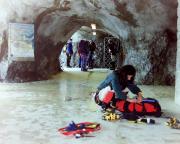 Mittellegigrat - Station Eismeer - hier gilt es die Ausrüstung anzulegen
