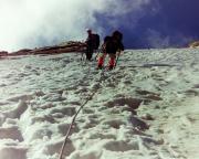 Lodner - der Aufstieg über die Nordflanke