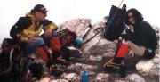 Lodner - Kurze Rast auf dem Gipfel