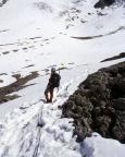 Mont Tondu - Nordostflanke - beim Abstieg