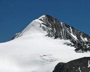 Der Similaun mit dem Normalweg von der Similaunhütte