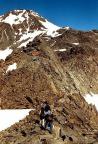 Blick zur Finailspitze, aufgenommen oberhalb der Similaunhütte