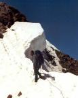 Finailspitze  - Wechten am Grat der Finailspitze