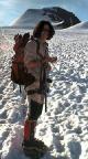 Aufbruch an der Similaunhütte zur Besteigung des Similaun