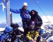 Weißkugel - Auf dem Gipfel des Wiesskugel - da lacht wie immer das Bergsteigerherz!