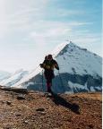 Furscherkarkopf in Hüttennähe, eine herrliche Felspyramide