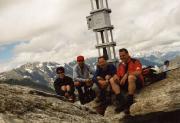 Unschwer wird schließlich der Gipfel des Tschigat erreicht