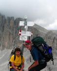 Carola Große und Steffen Große auf ihrer Paladurchwanderung
