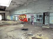Cottbuser Lost Places - Festbier - wie in jeder alten Anlage waren die Sprayer vor den Geocachern da!
