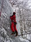 Bielata, hintere steile Eisfälle
