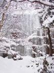 Bielatal, hier gibt es kurze aber herrliche steile Eisfälle