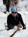 Bielata, vorderer großer Eisfall