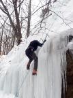 Bielatal, vorderer großer Eisfall