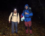 Dann eine neue Lehrstunde unseres Bergsports - der Hüttenanmarsch ;)