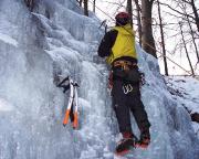 Die Kletterei ist kurz, aber für uns Anfänger ausreichend zum Üben der Technik