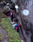 Dann war dieser Klettertag plötzlich vorbei, es begann zu regnen