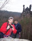 Da ist er, der neue Kletterer - und Fotograf ;)