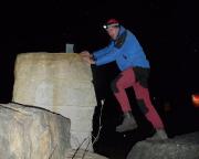 Gipfelbuch und doch kein Gipfel - Klettern im Kreisverkehr