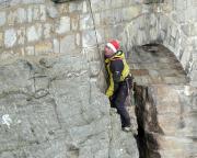 Mauerausstieg des Abratzkykamins