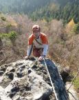 Gipfelankunft aus dem Talweg, V, auf die Papusspitze