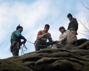 Alle aktiven Kletterer haben den Gipfel und damit den Jahresletzten 2011 erreicht.