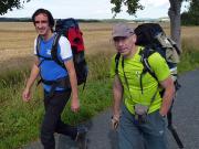 Beim Anmarsch in das Klettergebiet von Ostrov