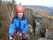 Auch bei Kälte macht Klettern Spaß, der Dress entscheidet.
