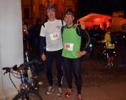 Steffen Große und Aldo Bergmann, 10.05.2013, 23:55 UHr, kurz vor dem Start des Run and Bike über 100 km - das Davor-Foto