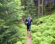Trailrunning in der Weberschlucht - richtiger: in der Weberschlüchte
