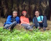 Tour 07/2014 - Regenpause in böhmischen Wäldern