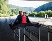 Tour 07/2014 - Grenzgänger an der tschechisch-deutschen Grenze bei Schmilka.