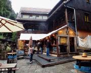 Tour 07/2014 - Gleich zu Beginn eine tolle Überraschung an der Mühle in Schmilka - hier hat ein sehr angenehmes Restaurant eröffnet.