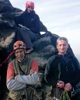 Unser Team auf dem Gipfel des Sauriers
