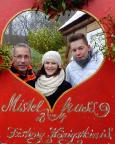 Mistelspaß auf dem herrlichen und unbedingt zu empfehlenden Weihnachtsmarkt auf der Festung Königstein.