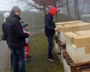 Tour 12/2014 - Sandsteinblöcke für die Restaurierung der Festungsmauer - zu schwer, für einen Wechsel zum Bungalow ;)