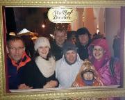 Tour 12/2014 - Auf dem mittelalterlichen Weihnachtsmarkt in Dresden, leider im strömenden Regen