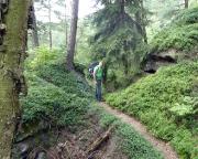 Gratweg Thorwalder Wände, ein sehr sanftes Teilstück