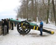Fotos an der Kanone gehören einfach zu einem Festungsbesuch - sagen wir jetzt einfach mal so :)))