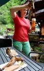 … wenn wir schon mal in Rathen sind, eine frisch geräucherte Forelle