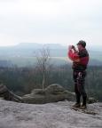 Dann ist es vollbracht, man befindet sich auf dem Falkenstein, einem genialen Gipfel und natürlich auch Aussichtspunkt.