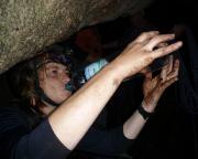 Höhlenklettern macht Durst - und schmutzig ;)))