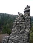 Spannagelturm, einer der bedeutendsten Gipfel des Bielatals