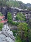 Prebischtor, Pravčická brána, Naturdenkmal des ElbsandsteingebirgesDas Prebischtor