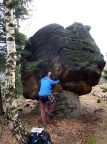 Murmel, Gebiet von Ostrov, erstaunlicherweise als Gipfel anerkannt