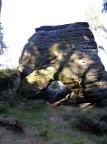 Backzahn – Stolicka, Gebiet von Ostrov, macht seinem Namen Ehre