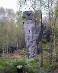 Ameisenturm, Gebiet von Raizia, Blick auf den Alten Weg VIIb