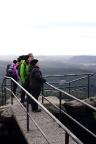 Opferkessel auf dem Pfaffenstein, ein herrlicher Aussichtspunkt