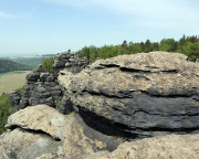 Schildkröte, Gipfelaufbau vom Vorgipfel aus gesehen - noch Fragen?