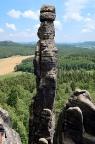 Barbarine am Pfaffenstein, einer der bedeutendsten Gipfel im Gebirge