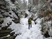 Weberschlüchte, auch im Winter ein lohnendes Wanderziel